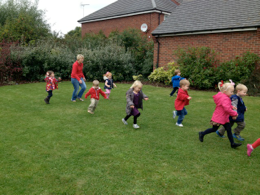 Playgroup Having Fun and Exercise