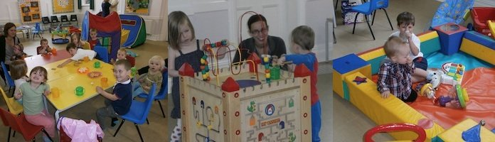 Children and Parents at Toddler Group