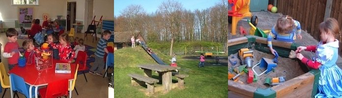 Images of  the Playgroup near Burton on the Wolds